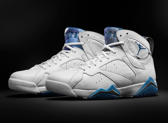"Air Jordan 7 ""French Blue"" – Remastered for 2015"