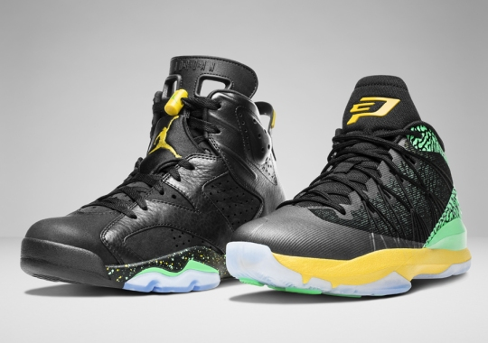Jordan Brand Celebrates the 2014 World Cup With the Brazil Pack