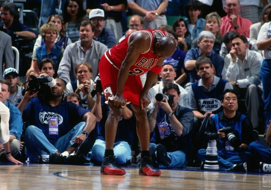 Flu Game Sniffles: Remembering Michael Jordan's Legendary Performance