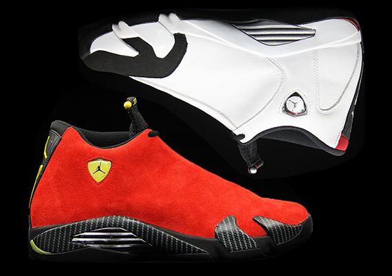"""online store 27bb1 22eba Air Jordan 14 """"Black Toe"""" + """"Ferrari"""""""