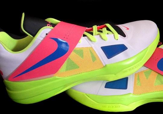 "Nike Zoom KD 4 ""Three4Five"" PE on eBay"