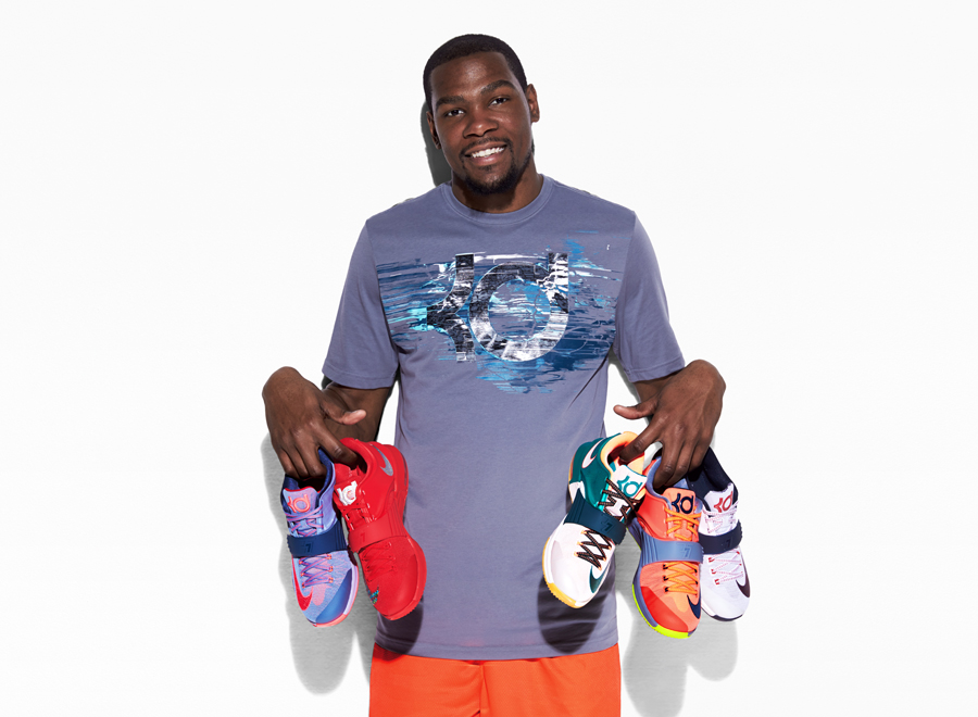 newest 7b456 78734 The Story Behind Every Upcoming Nike KD 7 Release