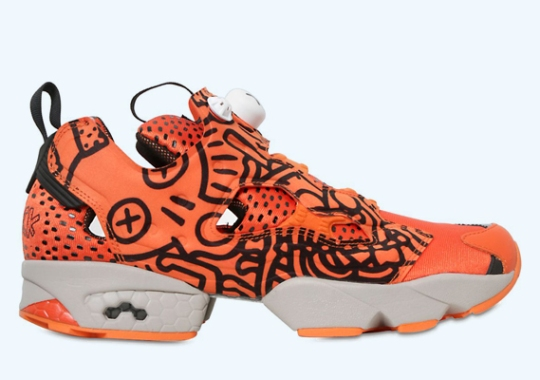 """Keith Haring and Reebok Classics Present """"Crack is Wack"""""""