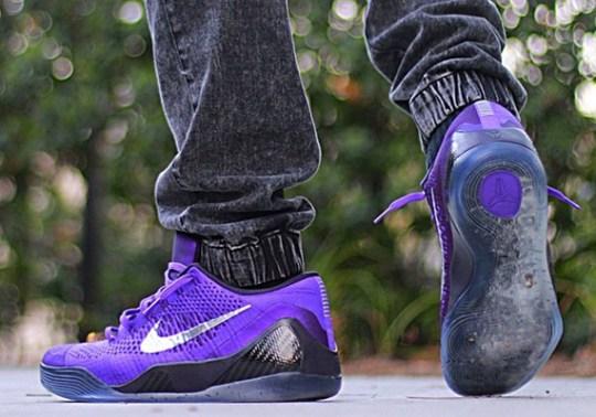 "Nike Kobe 9 Elite Low ""Michael Jackson"" – On-Feet Images"