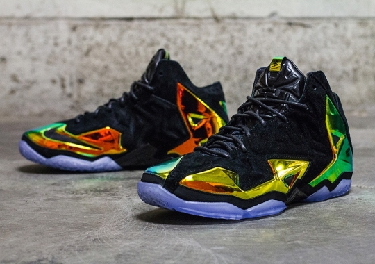 "Nike LeBron 11 EXT ""Crown Jewel"" – Arriving at Retailers"