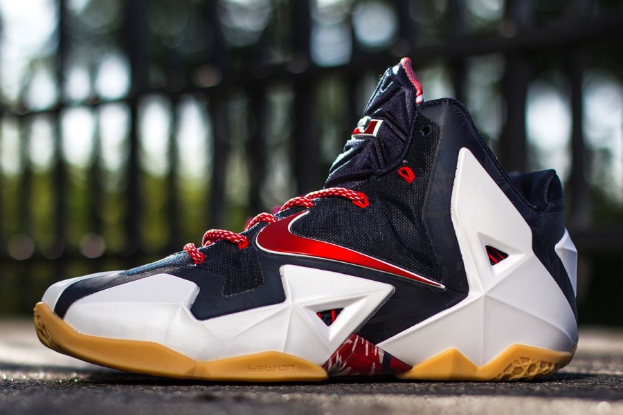 Nike LeBron 11s for Independence Day - SneakerNews.com