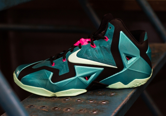"Nike LeBron 11 ""South Beach"" – Arriving at Retailers"