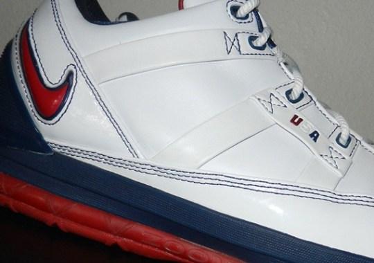 Nike Zoom LeBron III Low – 2006 FIBA Japan PEs