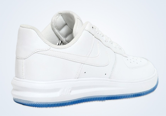 Nike Lunar Force 1 Leather – White – Ice