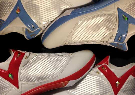 Carmelo Anthony's Air Jordan 2009 PEs