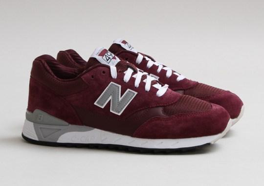 "New Balance CM 496 ""Burgundy"""
