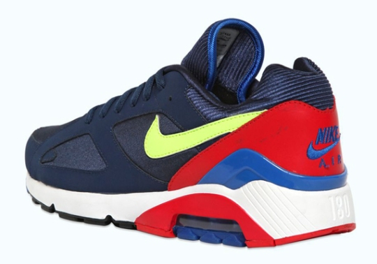 Nike Air 180 – Navy – Red – Volt