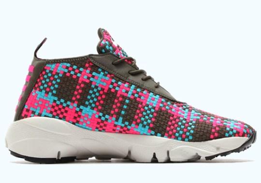 Nike Air Footscape Desert Chukka – Cargo Khaki – Hyper Pink – Umber