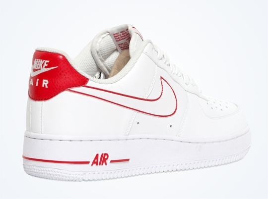 Nike Air Force 1 Low – White – Red