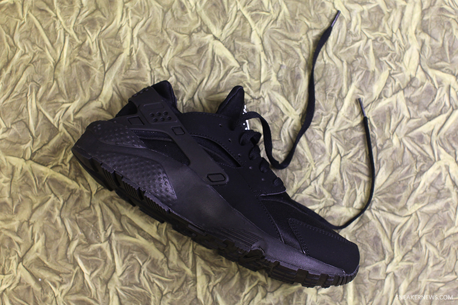 Nike Air Huarache De Triple Armario Del Pie Negro mAAI29oN