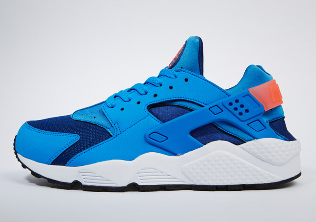 new style 6cf49 e3cea Nike Air Huarache - Gym Blue - Photo Blue - Mango - SneakerNews.com