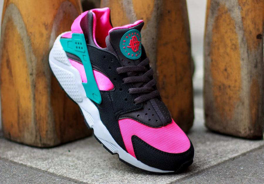 Nike Air Huarache - Hyper Pink - Dusty Cactus - Medium Ash