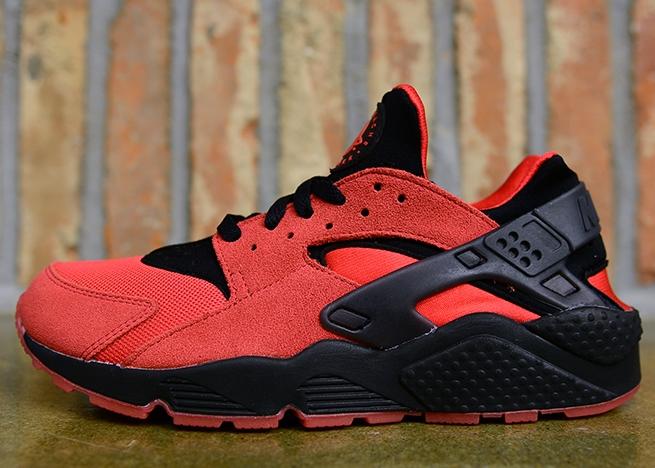 2015 Cheap Nike Air Huarache Black University Red