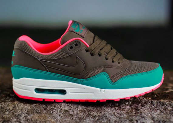 ... denmark the nike air max 1 has been editing the color blocking atop the  shoe with 36df94a1a