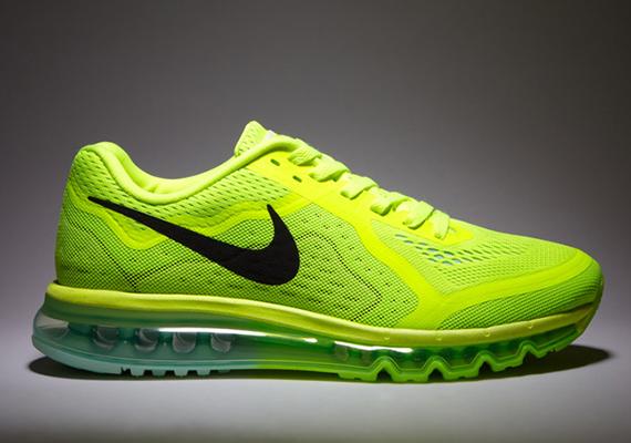 Nike Air Max 2014 - Volt - Black - Medium Mint - Electric ...  Nike Air Max 20...