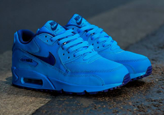 Nike Air Max 90 GS Photo Blue Deep Royal Blue