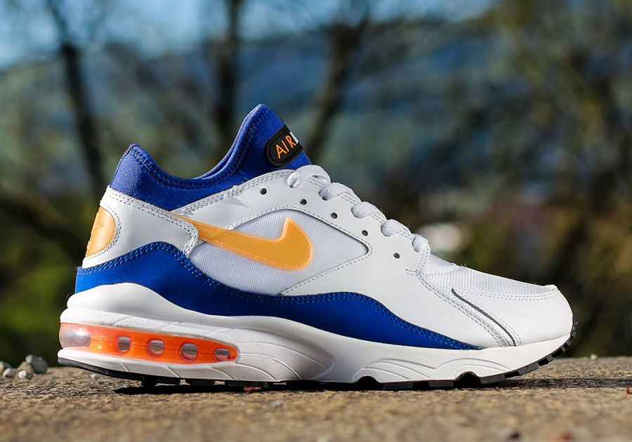 buy popular 2e33c 76827 ... authentic nike air max 93 bright citrus sneakernews c90df 21947