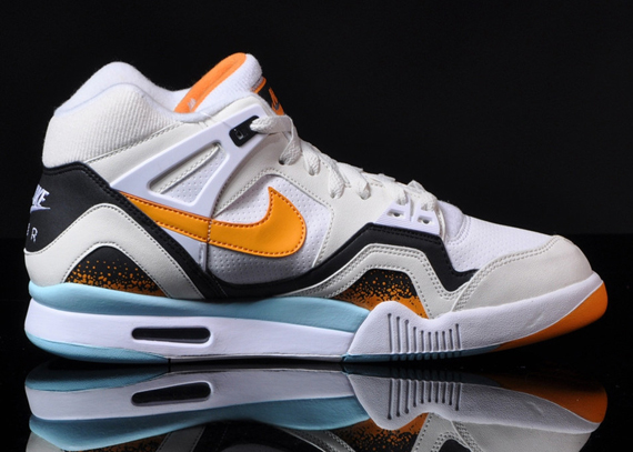 b71a18466843 Nike Air Tech Challenge II Color  White Kumquat-Soft Pearl-Black Style  Code  318408-180. Price   120