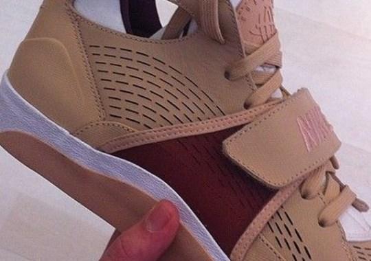 Nike Air Huarache Trainer With A Vulc Sole