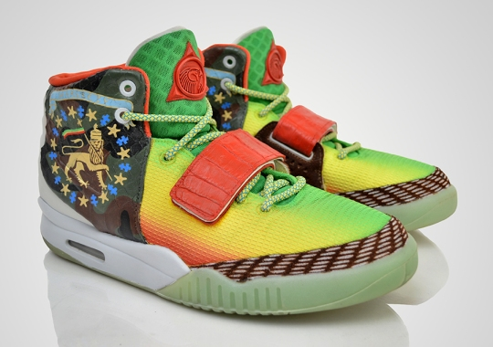 "Nike Air Yeezy 2 ""Marleezy"" by Revive Customs"