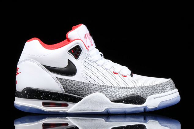 nike air flight squad white cement