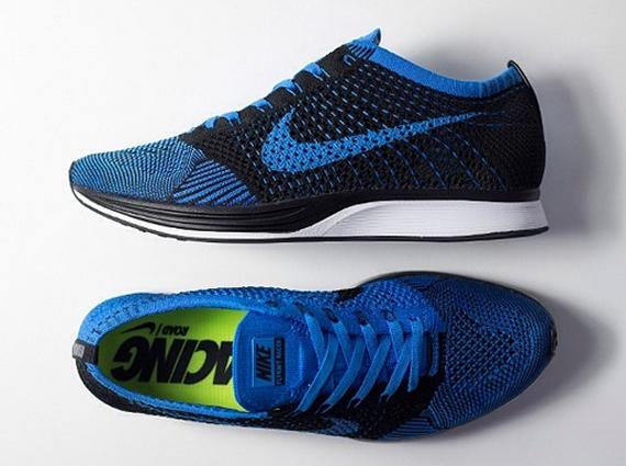 "new york 42737 75499 Nike Flyknit Racer ""Photo Blue"""