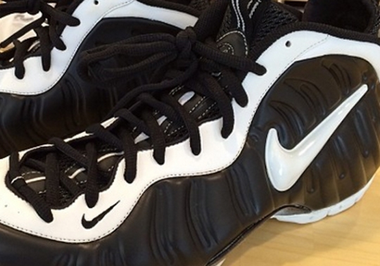 Nike Air Foamposite Pro – Unreleased Black/White Sample