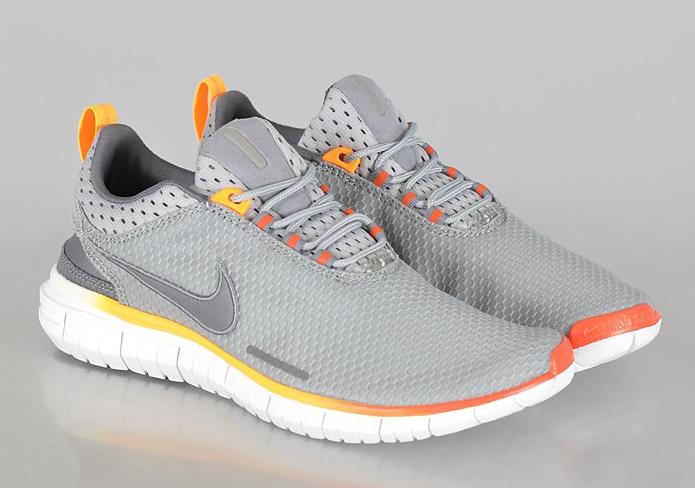 Nike Free OG 14 – Base Grey – Cool Grey – Team Orange
