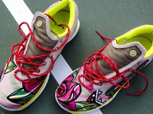 "Nike KD 6 Elite Fragment Design ""De Lano"" Customs for Kevin Durant"