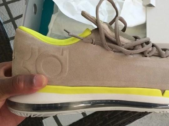 fragment design x Nike KD 6 Elite – Grey – Volt