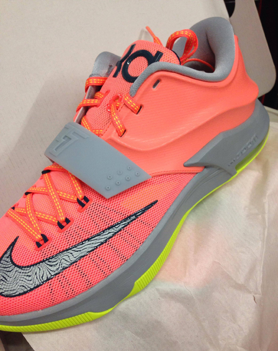 1ebf98f57be8 Nike KD 7 quot Bright Mangoquot Release Date low-cost - s132716079 ...