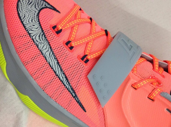 finest selection 2bb7e c0dff Nike KD 7 quot Bright Mangoquot Release Date low-cost