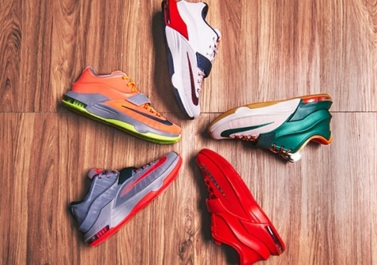 Nike KD 7 – Upcoming Colorways