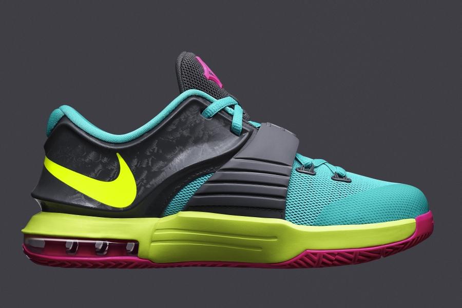 "Nike KD 7 GS ""Car..."