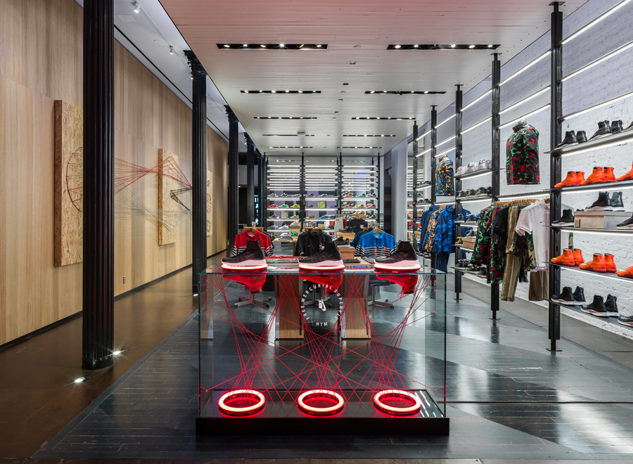 Nike lab for Basketball store milano