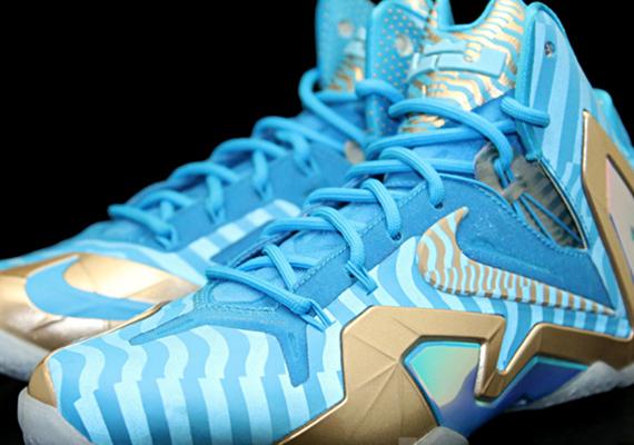 Nike LeBron 11 Elite - Blue - Grey - SneakerNews.com