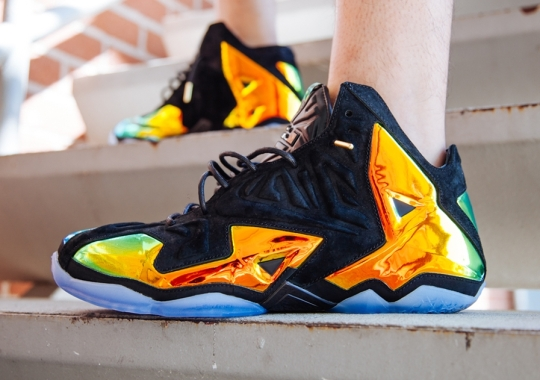 """An On-Feet Look at the Nike LeBron 11 EXT """"Crown Jewel"""""""