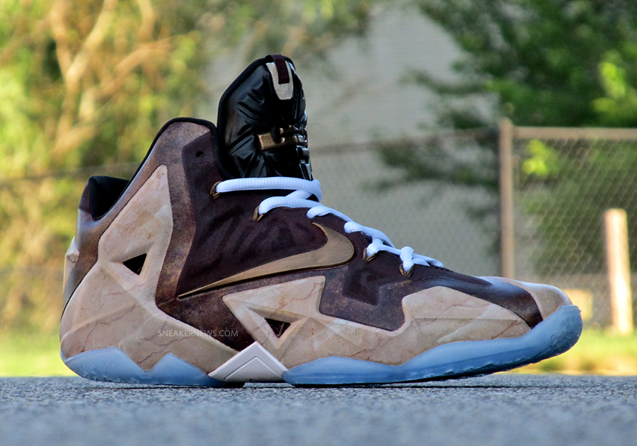 """Nike LeBron 11 """"Great Hall"""" by District Customs ...Lebron 11 Customize Ideas"""
