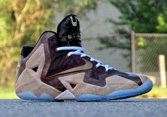 """Nike LeBron 11 """"Great Hall"""" by District Customs"""
