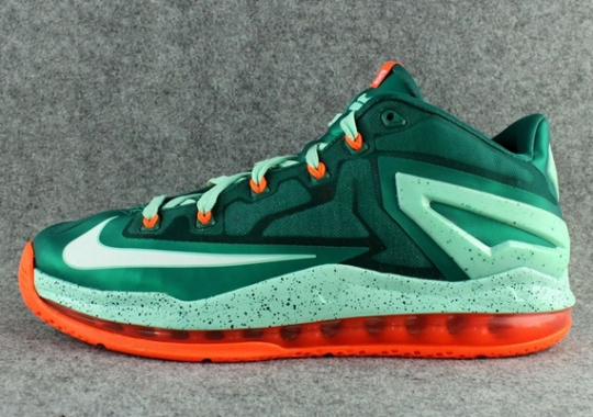 """Nike LeBron 11 Low """"Biscayne"""" – Release Date"""