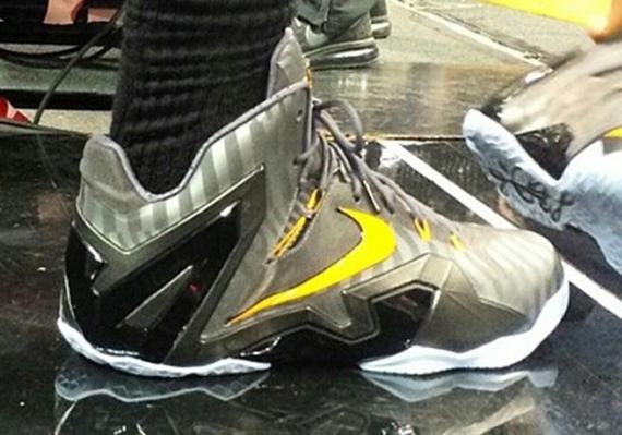 9da668bd5377 Nike LeBron 11 Elite NBA Finals PE - SneakerNews.com