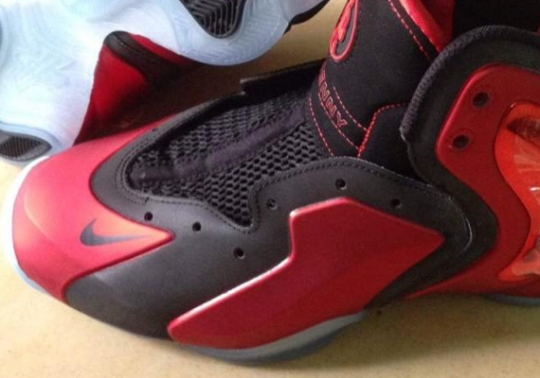 Nike Lil Penny Posite – University Red – Black