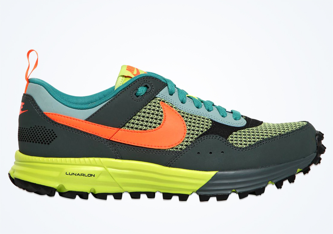new product 87b40 cd728 Nike Lunar Pegasus Trail - Green - Orange - Volt - SneakerNews.com