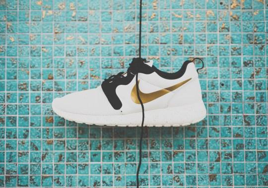 """Nike Roshe Run HYP """"Gold Hypervenom"""""""