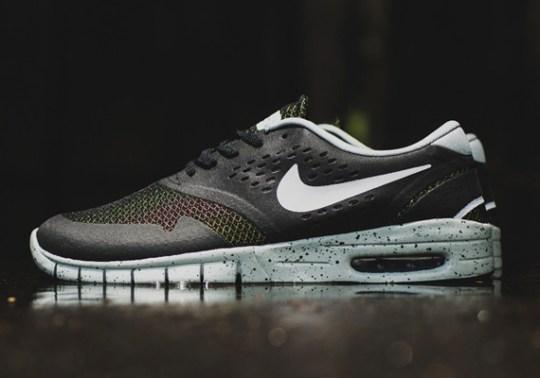 Nike SB Koston 2 Max – Black – Venom Green – Grey
